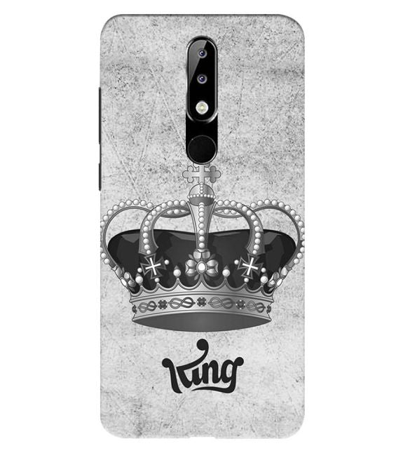 King Back Cover for Nokia 5.1 Plus (Nokia X5)