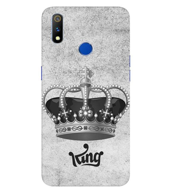 King Back Cover for Realme 3 Pro