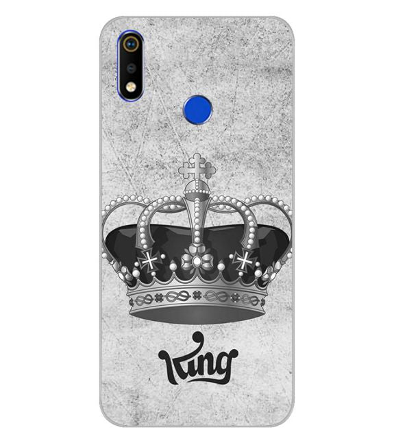King Back Cover for Realme 3i