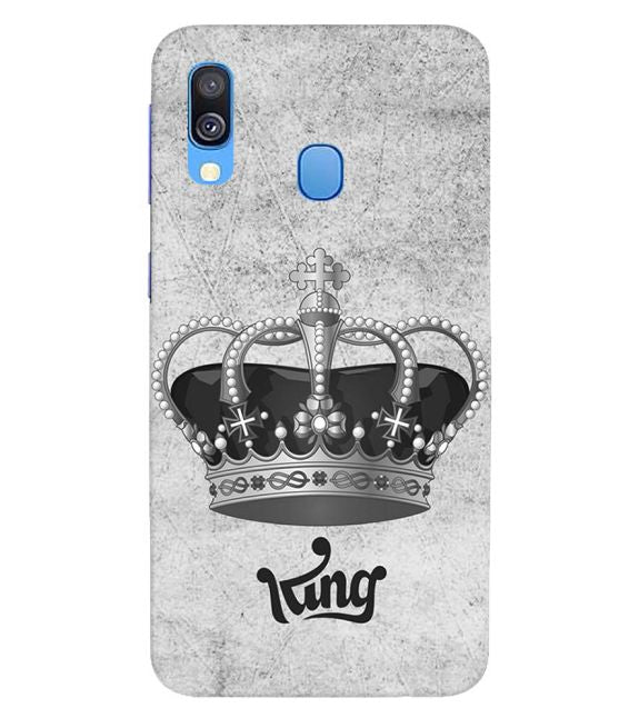 King Back Cover for Samsung Galaxy A40