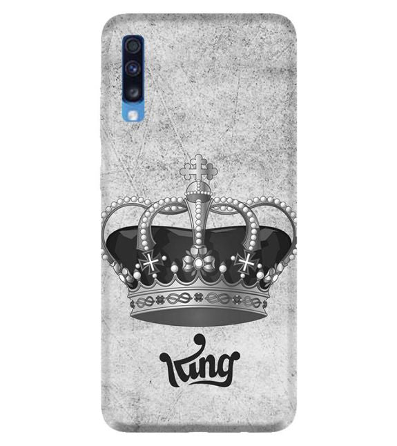 King Back Cover for Samsung Galaxy A70