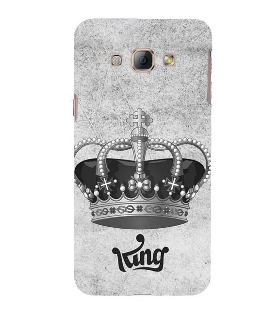 King Back Cover for Samsung Galaxy A8 (2015)