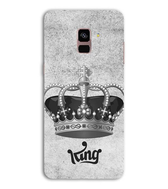 King Back Cover for Samsung Galaxy A8 (2018)