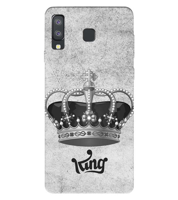 King Back Cover for Samsung Galaxy A8 Star