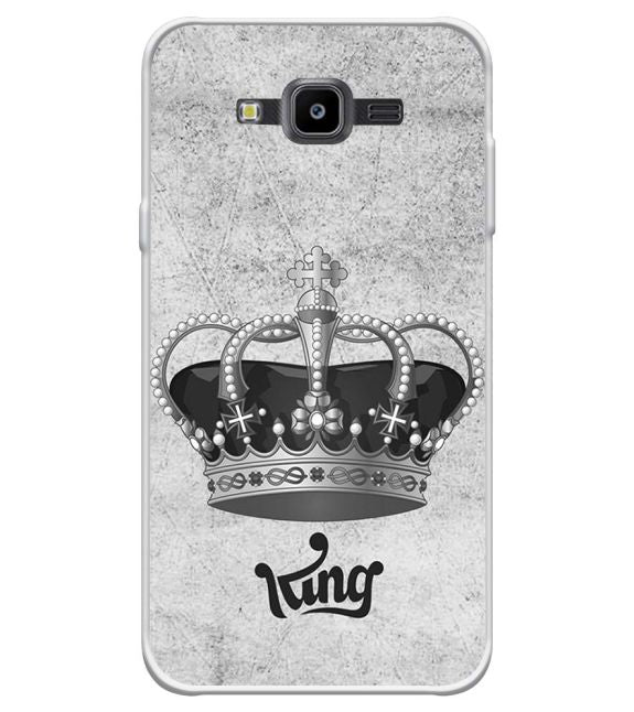 King Back Cover for Samsung Galaxy J7 Nxt