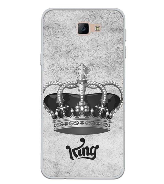 King Back Cover for Samsung Galaxy J7 Prime (2016)