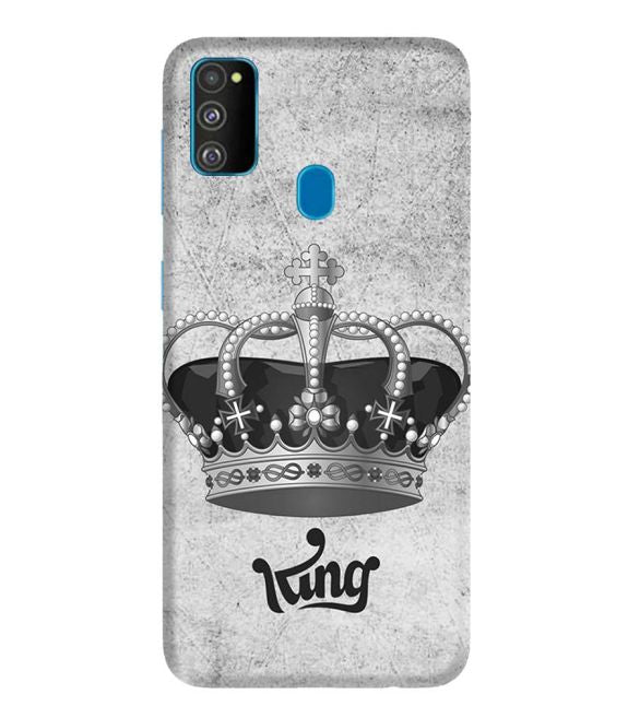 King Back Cover for Samsung Galaxy M30s