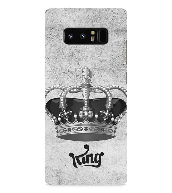 King Back Cover for Samsung Galaxy Note 8