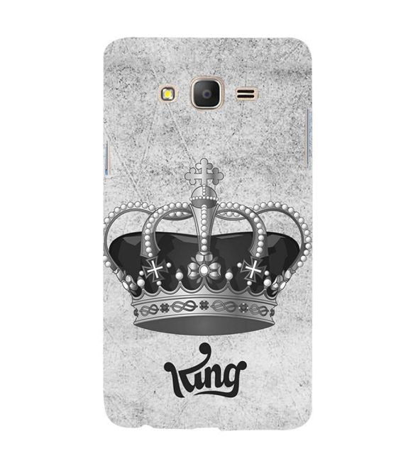 King Back Cover for Samsung Galaxy On7 and On 7 Pro