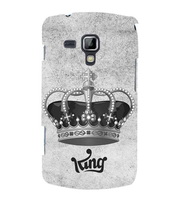 King Back Cover for Samsung Galaxy S Duos and S Duos 2