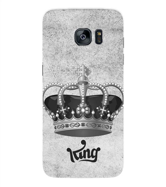 King Back Cover for Samsung Galaxy S7 Edge