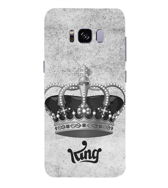 King Back Cover for Samsung Galaxy S8