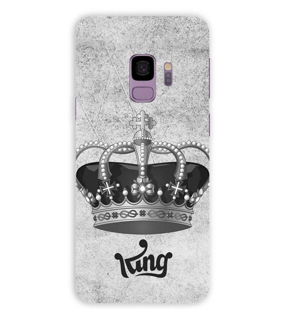 King Back Cover for Samsung Galaxy S9