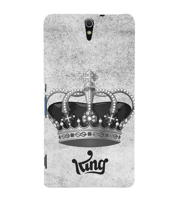 King Back Cover for Sony Xperia C5