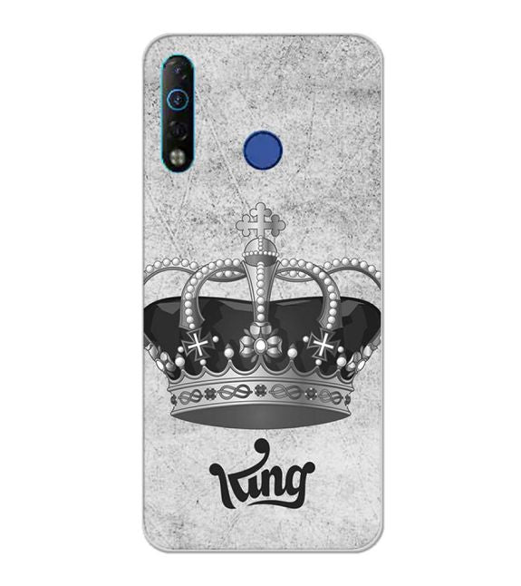 King Back Cover for Tecno Camon 12 Air