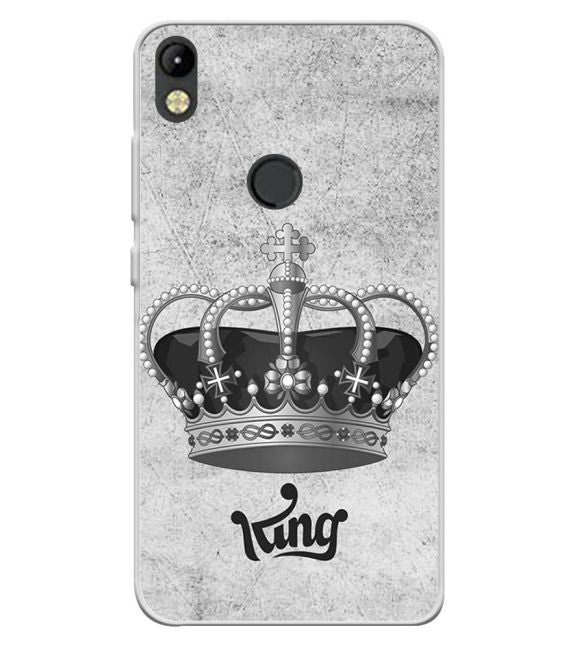 King Back Cover for Tecno Camon I