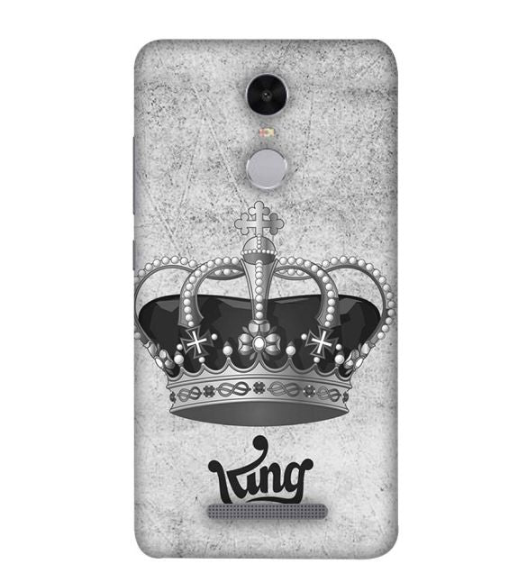 King Back Cover for Xiaomi Redmi Note 4