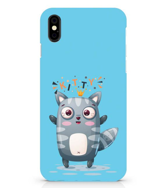 Kitty Back Cover for Apple iPhone X