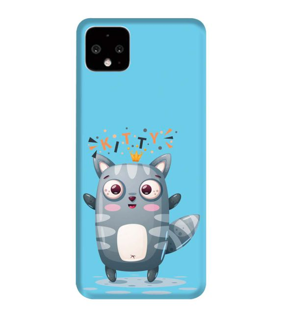Kitty Back Cover for Google Pixel 4 XL