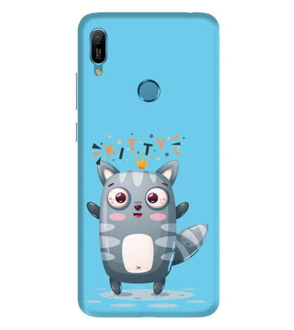 Kitty Back Cover for Huawei Y6 Prime (2019)