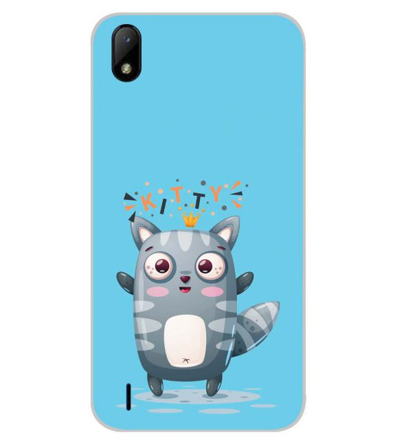 Kitty Back Cover for Lava Z41