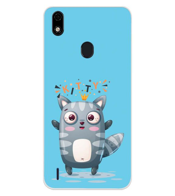 Kitty Back Cover for Lava Z52 Pro