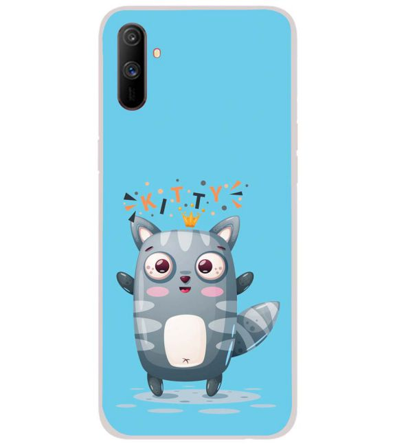Kitty Back Cover for Realme C3