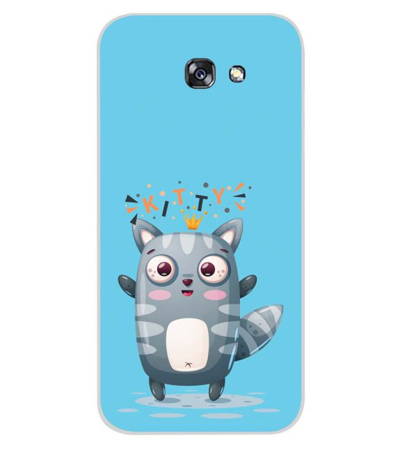 Kitty Back Cover for Samsung Galaxy A7 (2017)