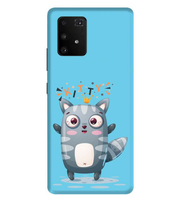 Kitty Back Cover for Samsung Galaxy A91