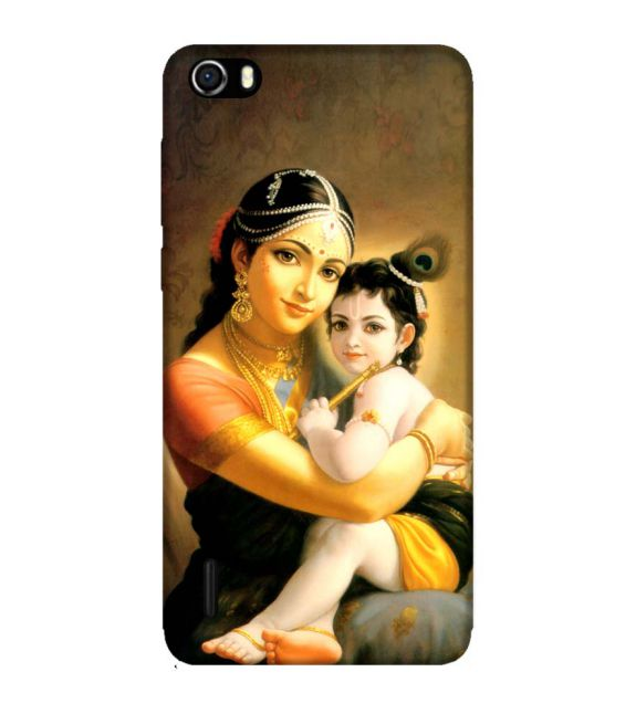 Krishna With Yashoda Back Cover for Huawei Honor 6