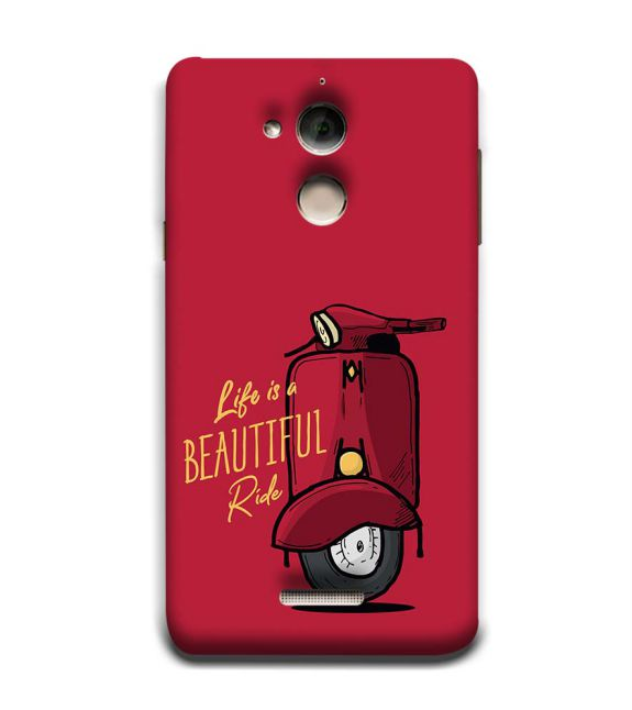 Life is Beautiful Ride Back Cover for Coolpad Note 5
