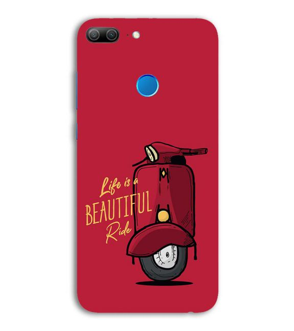 Life is Beautiful Ride Back Cover for Huawei Honor 9 Lite