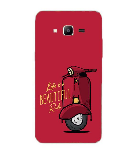 Life is Beautiful Ride Back Cover for Samsung Galaxy J2 Prime