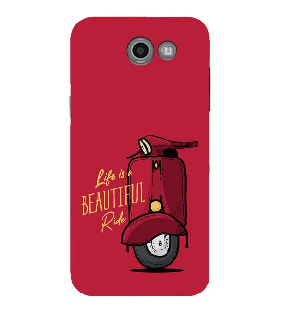 Life is Beautiful Ride Back Cover for Samsung Galaxy J7 (2017)