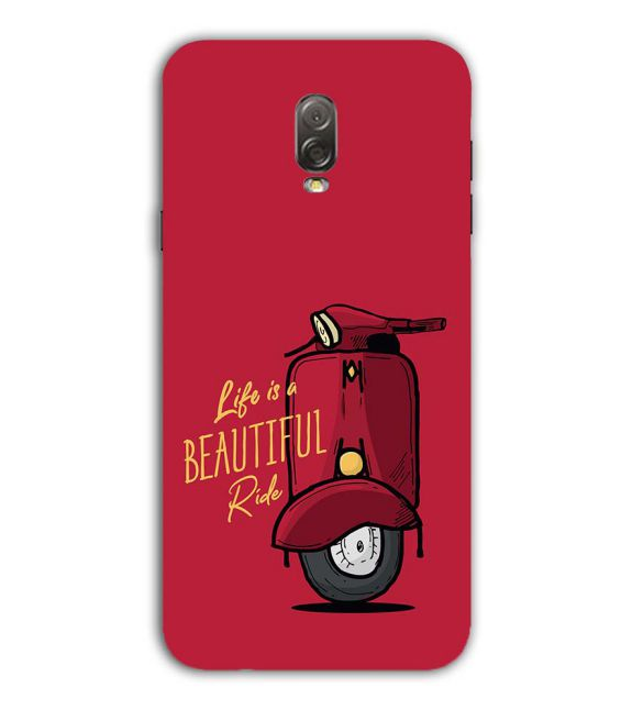 Life is Beautiful Ride Back Cover for Samsung Galaxy J7 Plus