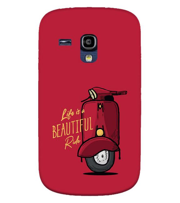 Life is Beautiful Ride Back Cover for Samsung Galaxy S3 Mini