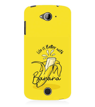 Life is Better with Banana Back Cover for Acer Liquid Zade 530