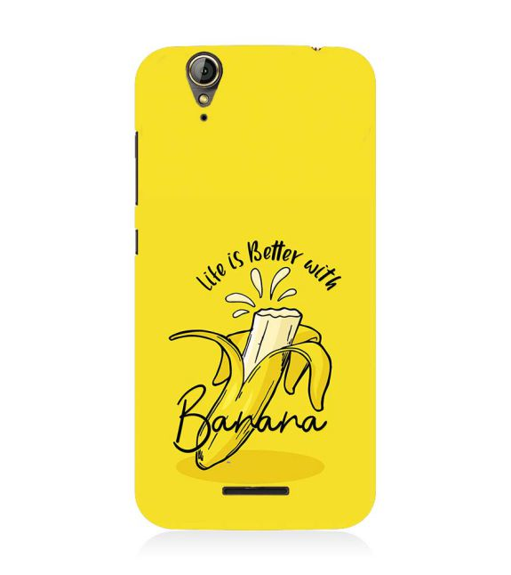Life is Better with Banana Back Cover for Acer Liquid Zade 630