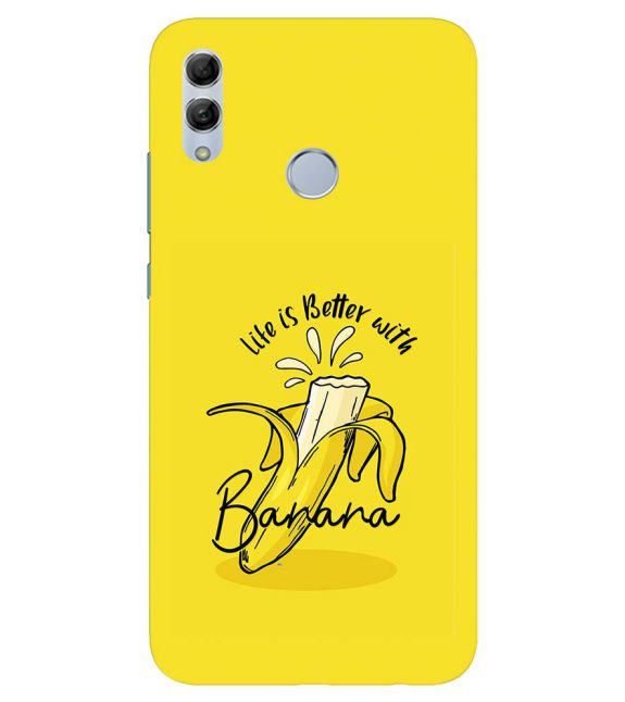 Life is Better with Banana Back Cover for Honor 20 Lite