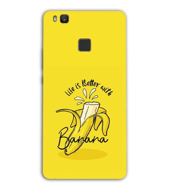 Life is Better with Banana Back Cover for Huawei Honor 8 Smart