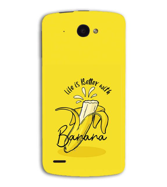 Life is Better with Banana Back Cover for Lenovo S920