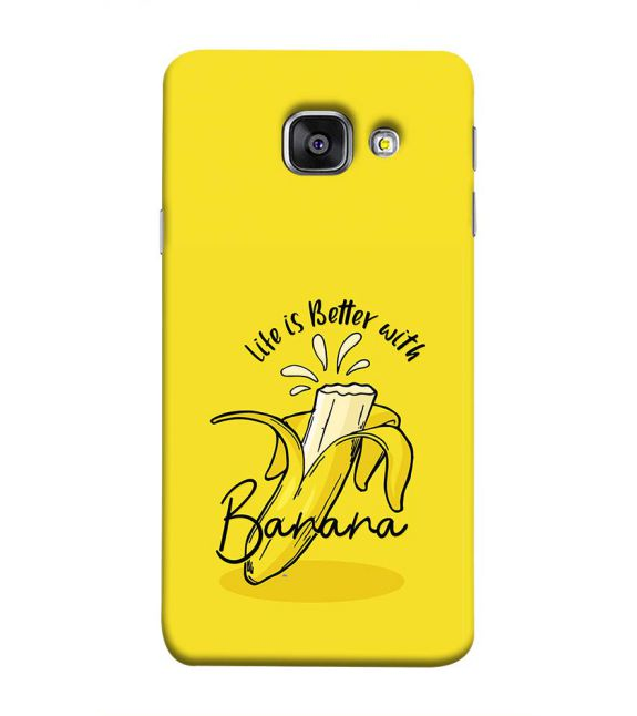 Life is Better with Banana Back Cover for Samsung Galaxy A9 Pro