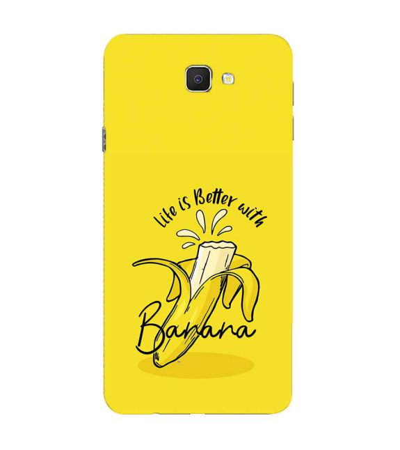 Life is Better with Banana Back Cover for Samsung Galaxy C9 Pro