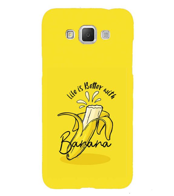 Life is Better with Banana Back Cover for Samsung Galaxy Grand Max G720