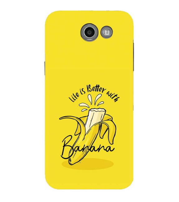 Life is Better with Banana Back Cover for Samsung Galaxy J7 (2017)
