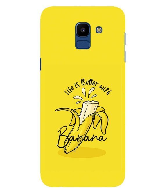 Life is Better with Banana Back Cover for Samsung Galaxy On6