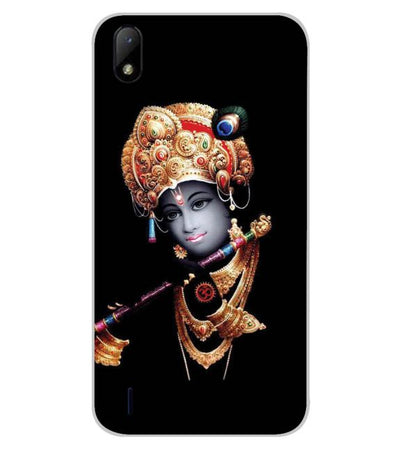 Lord Krishna Back Cover for Lava Z41