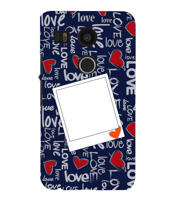 Love All Around Back Cover for Google Nexus 5X