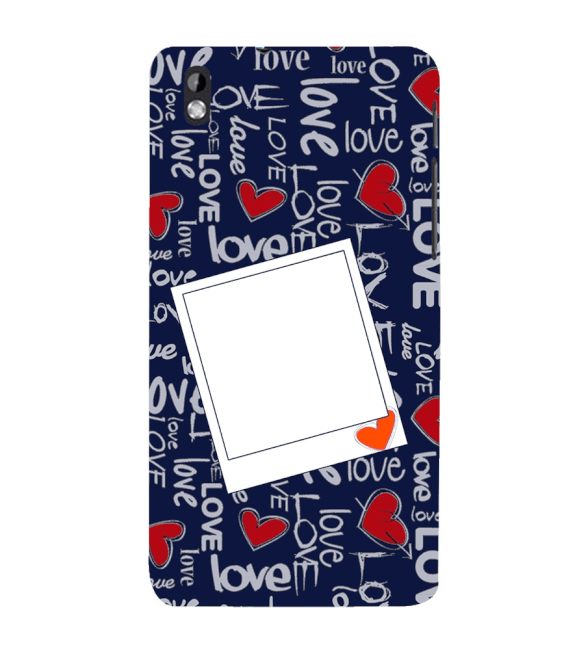 Love All Around Back Cover for HTC Desire 816