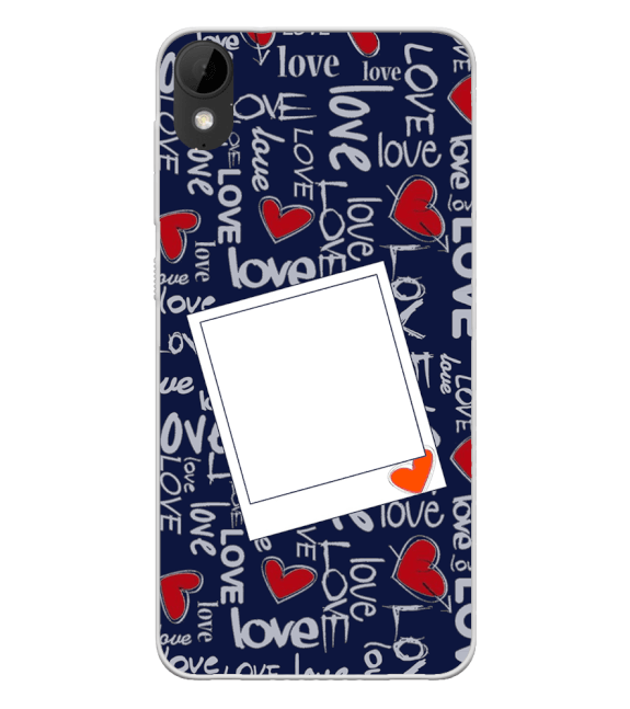 Love All Around Back Cover for HTC Desire 825
